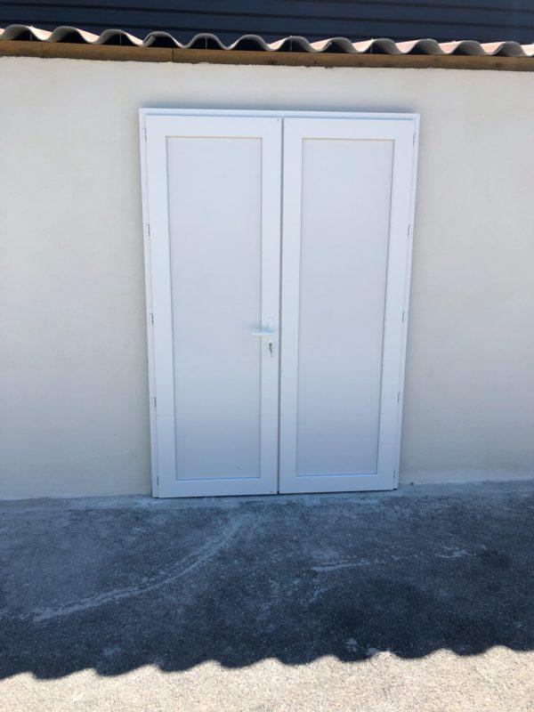 Porte de service